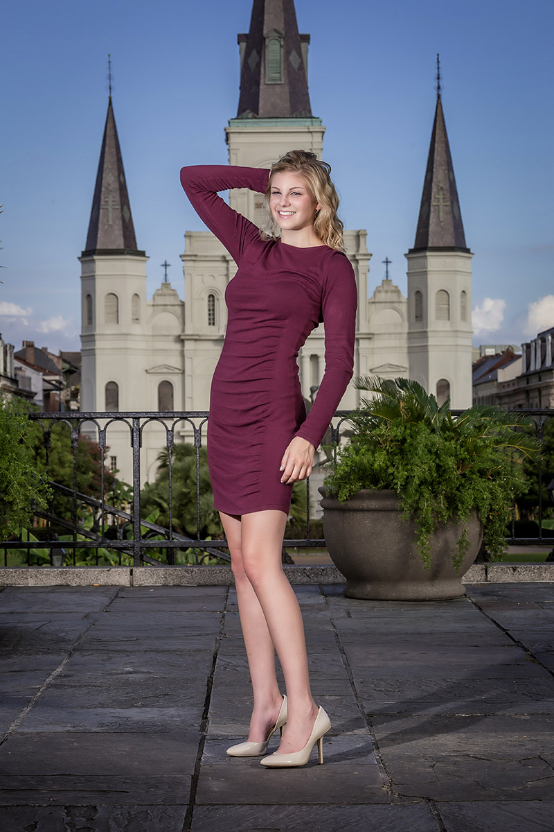 High School Senior Portrait Photography - Couture Fashion Gallery - Brian K Crain Photography