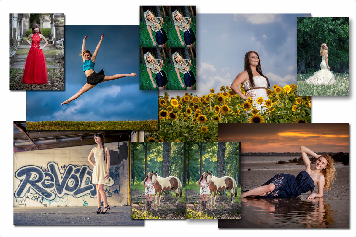 Professional Quality Photographic Prints - High School Senior Photography Product Showcase - Albums, Prints, Books, CArds,Wall Art - Tampa St Petersburg, Clearwater, Sarasota, Florida - Brian K Crain Photography