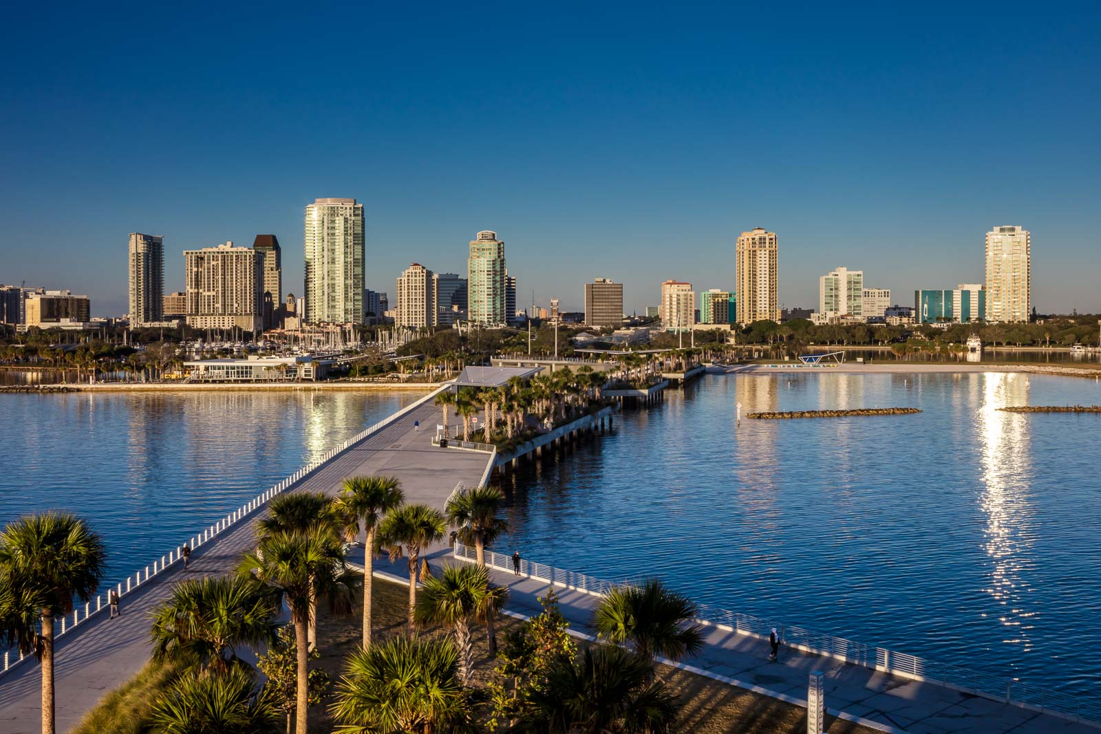 Skyline of Downtown St.Petersburg, Florida - Professional Photographer - Brian K Crain