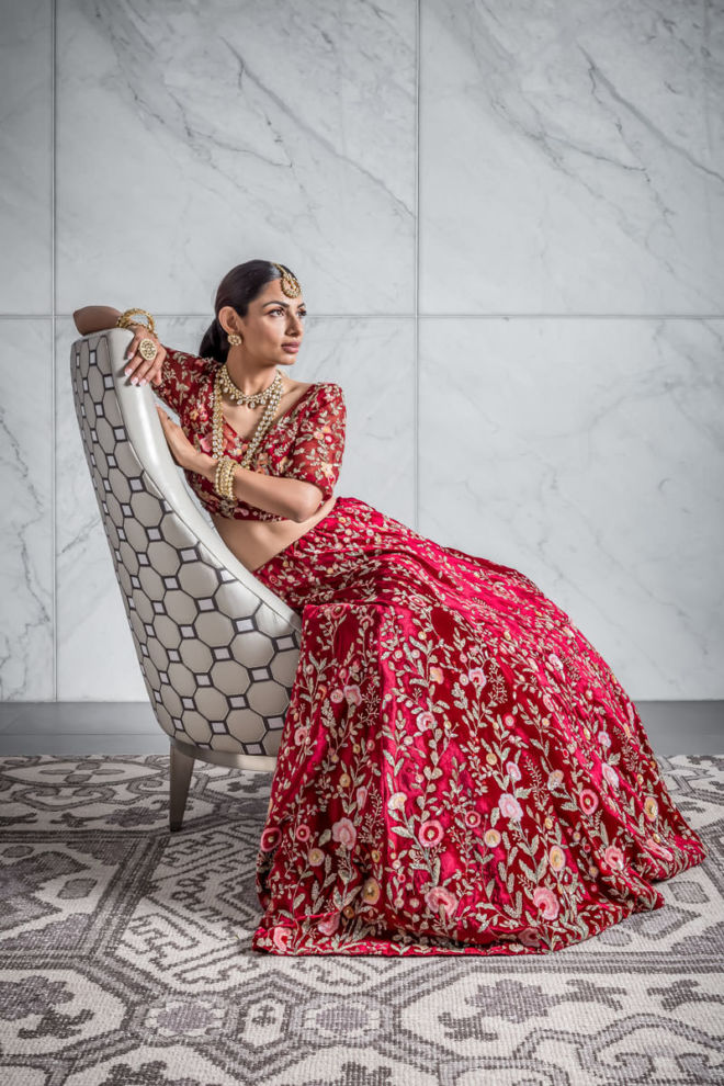 Couture South Asian Bridal Fashion Photography - Beauty, Glamour, Magazine Editorial - Tampa, St. Petersburg, Sarasota, Florida Photographer - Brian K Crain