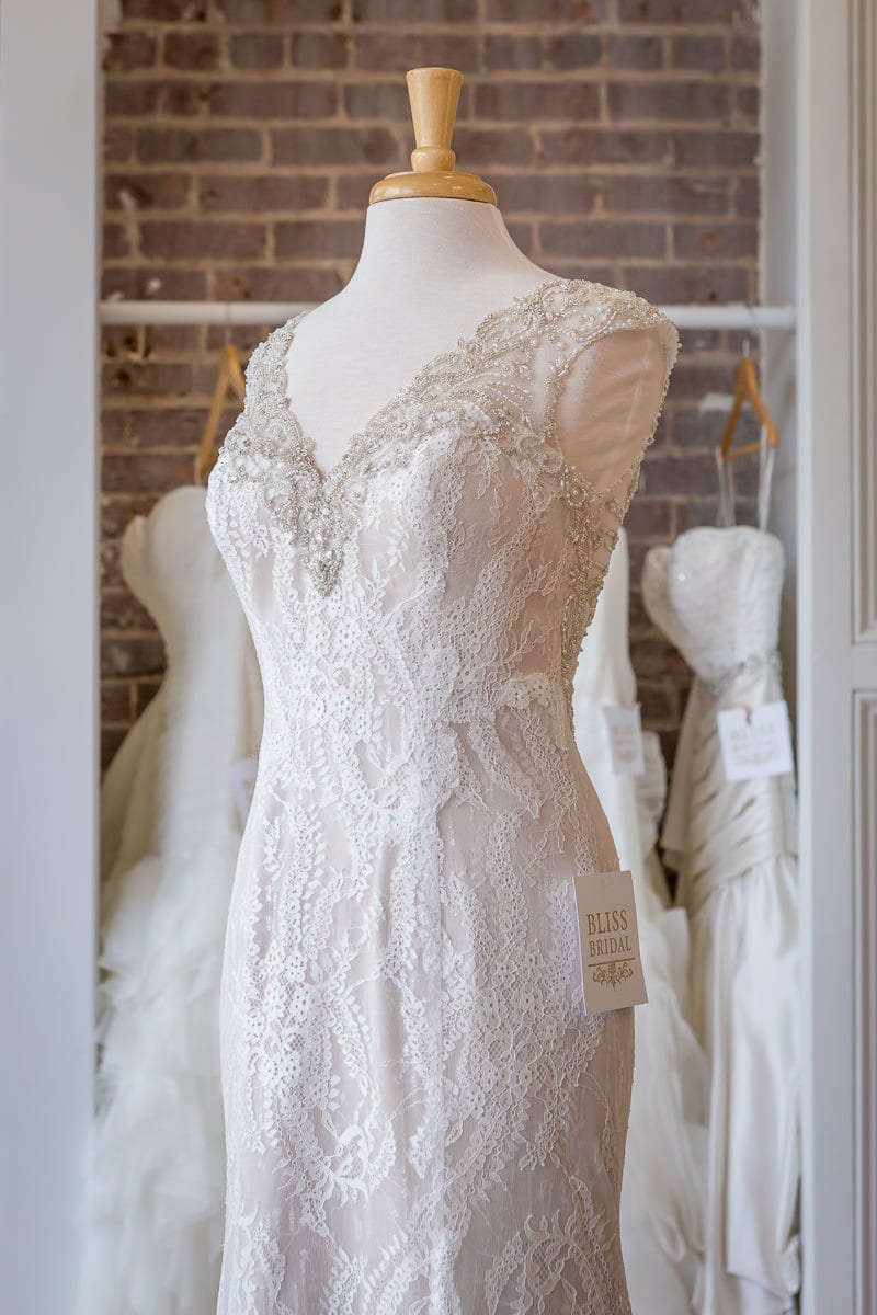 Luxury Boutique Bridal Gowns - Commercial Photography & Website Design - Palm Island Creative