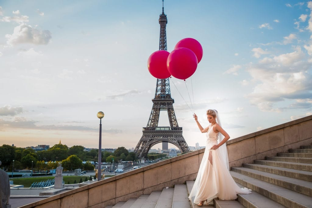 Hair & Makeup Artist for Paris, France Destination Weddings and Bridal Couture Fashion Stylist for locations in Europe and Worldwide - BridalGal - New York City
